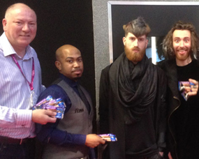 Chris Foster pays a visit at Pro-Hair Live Exhibition